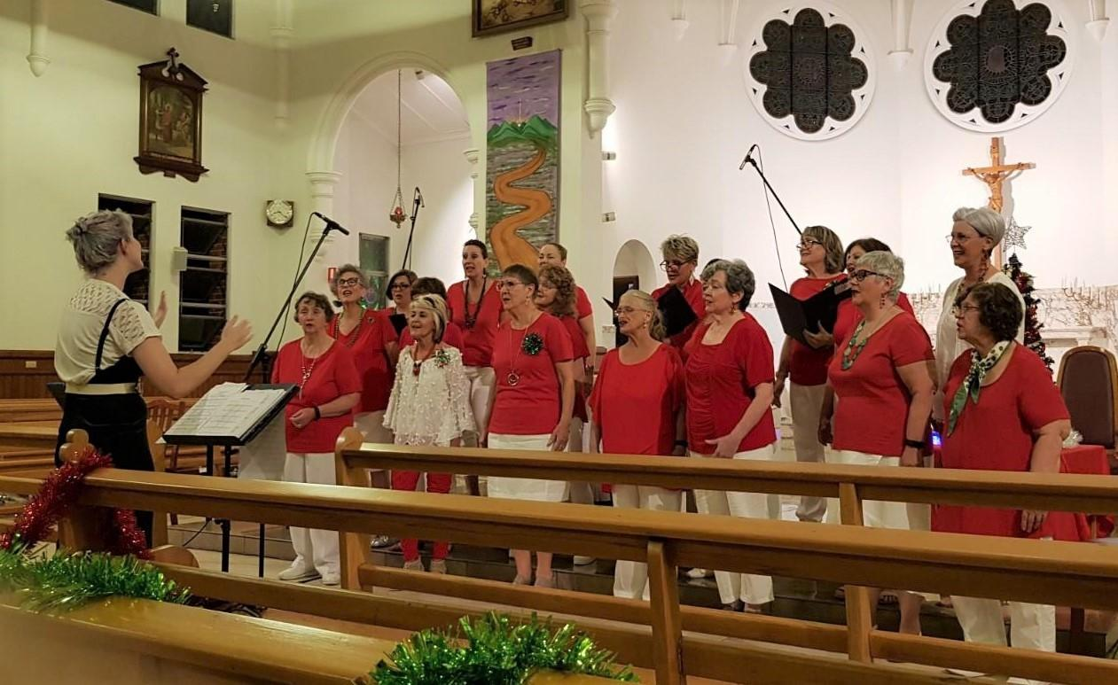 Christmas Concert in the Sacred Heart Church