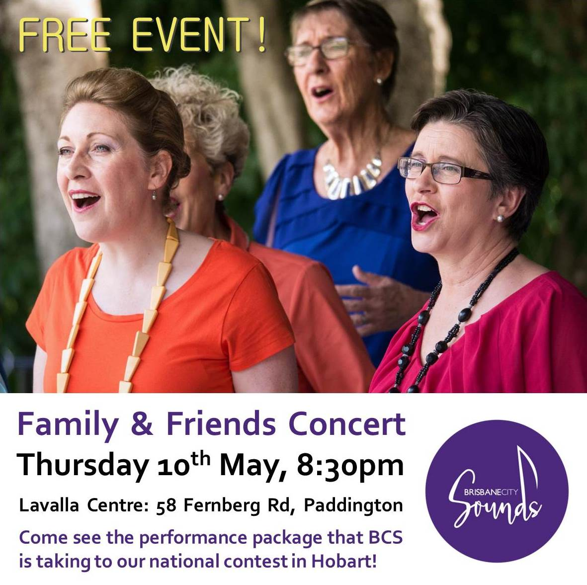Family and Friends Concert